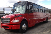 1 of 4 MTILP buses, we also have a van